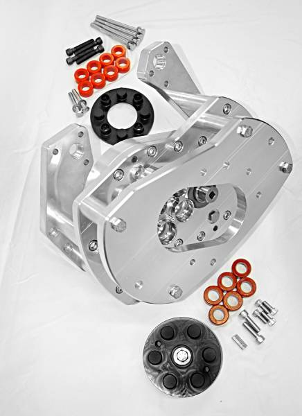 TSCS - TSCS Gear Drive for Ford Coyote Block with F-1/F-2 Procharger Mounting