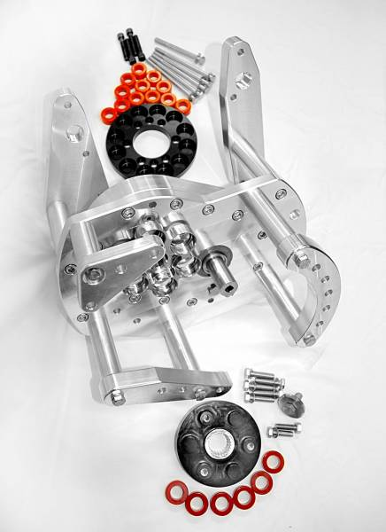 TSCS - TSCS Heavy-Duty Gear Drive for Ford Coyote Block with F-3 Procharger Mounting