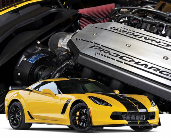 Procharger - 2019 to 2015 CORVETTE Z06 LT4 High Output Intercooled Tuner Kit with D-1SC