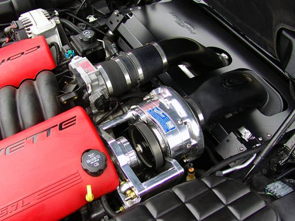 Procharger - 2004 to 2001 CORVETTE Z06 LS6 Intercooled Serp (8 rib) Race Kit with F-1A