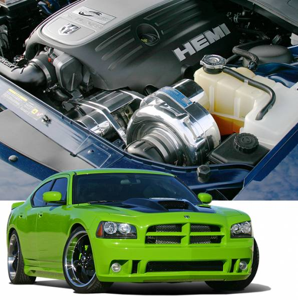 Procharger - 2008 to 2006 CHARGER R/T 5.7 Stage II Intercooled System with P-1SC-1