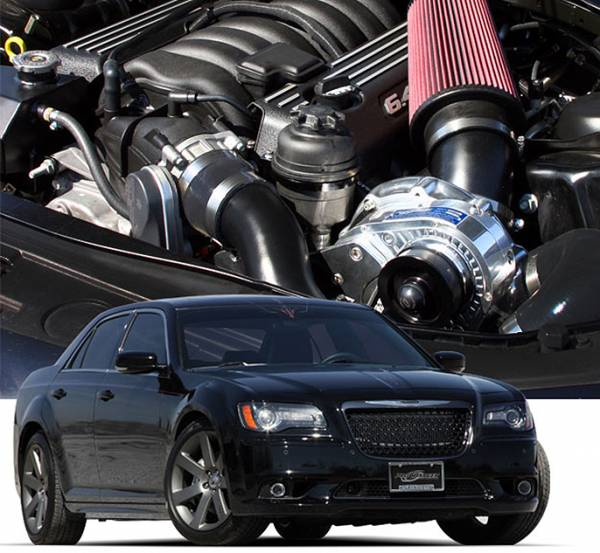Procharger - 2014 to 2012 300 SRT8 6.4 High Output Intercooled System with P-1SC-1