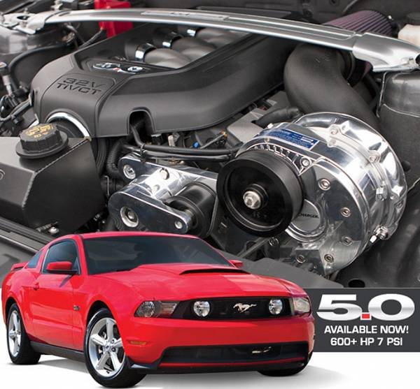 Procharger - 2011 to 2014 MUSTANG V6 3.7 Intercooled Supercharger System with P-1SC-1