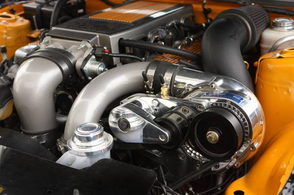 Procharger - 2005 to 2010 MUSTANG GT 4.6 3V Intercooled Supercharger System with P-1SC-1 (shared drive)