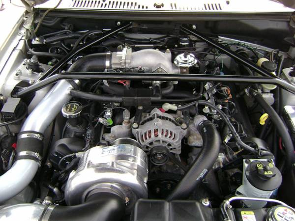 Procharger - 2001 MUSTANG BULLITT 4.6 2V Stage II Intercooled System with P-1SC
