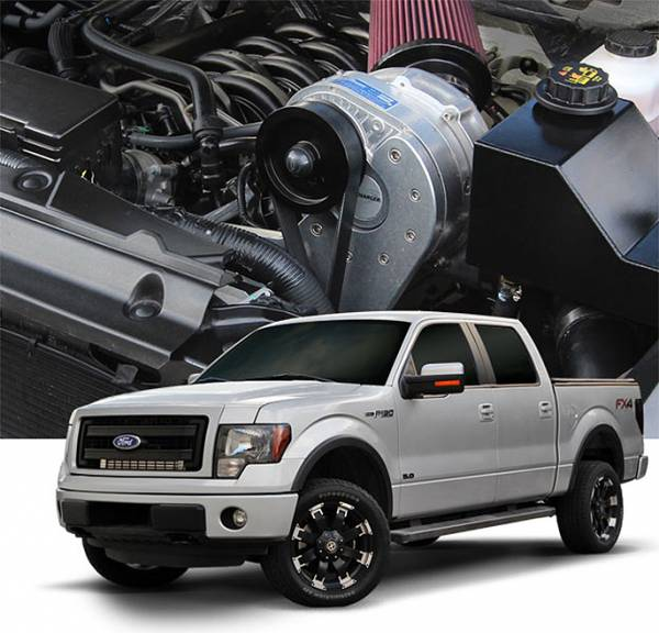 Procharger - 2014 to 2011 FORD F-150  5.0 4V Stage II Intercooled Tuner Kit with P-1SC-1