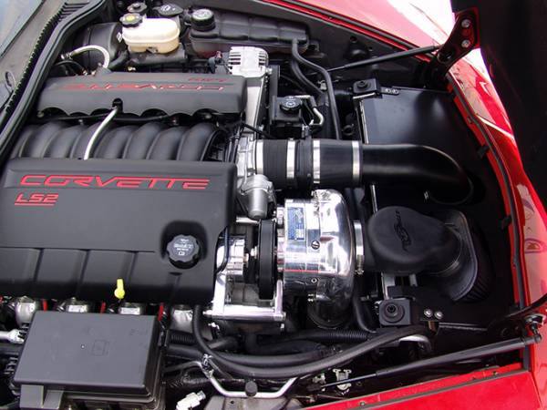 Procharger - 2007 to 2005 CORVETTE  LS2 Stage II Intercooled System with P-1SC-1