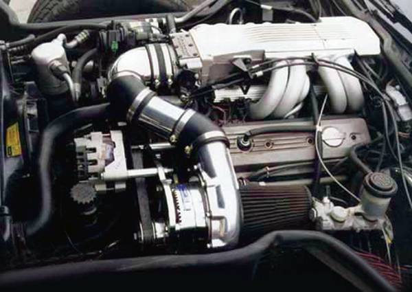 Procharger - 1991 to 1985 CORVETTE  L98 High Output Intercooled System with P600B