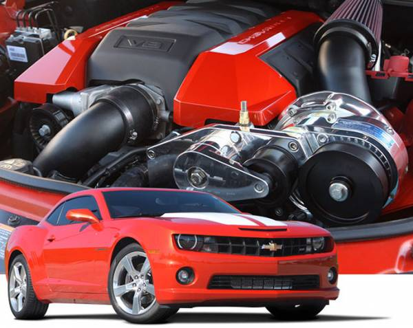 Procharger - 2015 to 2010 CAMARO SS LS3, L99 Stage II Intercooled System with supplied airbox and P-1SC-1
