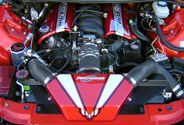 Procharger - 2002 to 1998 CAMARO  LS1 Intercooled Serpentine Race Kit with D-1SC (8 rib)