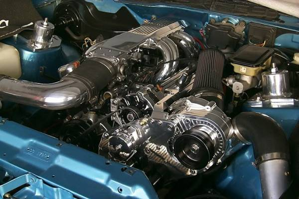 Procharger - 1992 to 1987 FIREBIRD  L98 High Output Intercooled System with P-1SC