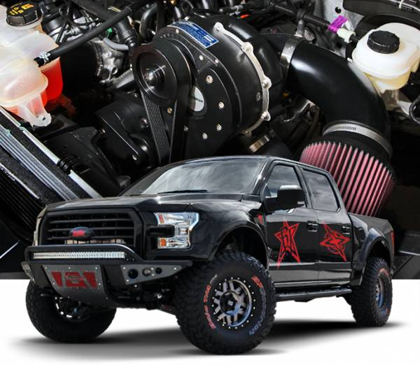 Procharger - 2020 to 2018 FORD F-150  5.0 4V Stage II Intercooled System with P-1SC-1