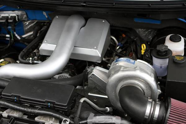 Procharger - 2010 to 2009 FORD F-150  5.4 3V High Output Intercooled Tuner Kit with P-1SC-1 (F-150)