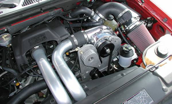 Procharger - 2002, 2003 to 1997 FORD EXPEDITION, F-150  4.6 High Output Intercooled System with P-1SC (F150/Expedition*)