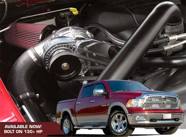 Procharger - 2010 to 2009 DODGE RAM  5.7 Stage II Intercooled System with P-1SC-1 (dedicated 8-rib drive)