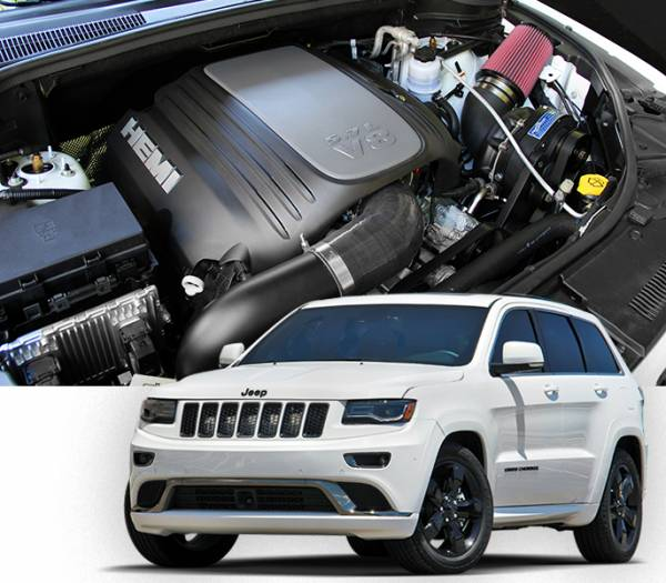 Procharger - 2018 to 2011 JEEP GRAND CHEROKEE  5.7 High Output Intercooled Tuner Kit with P-1SC-1