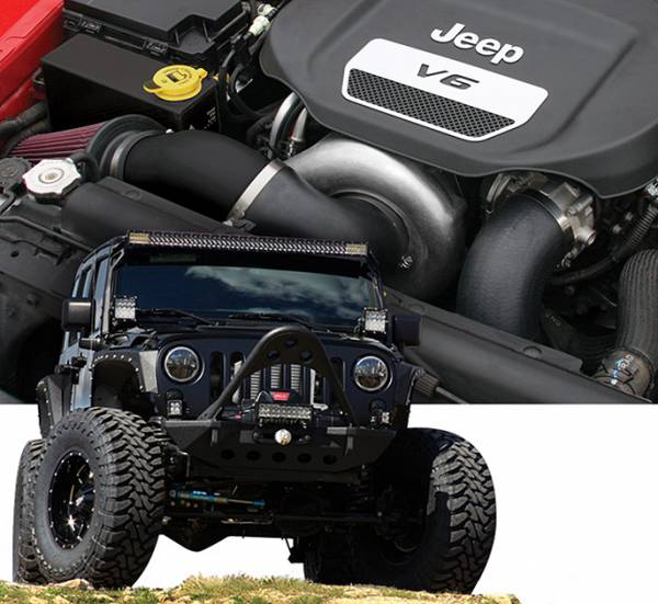 Procharger - 2018 to 2012 JEEP WRANGLER  3.6 High Output Intercooled Tuner Kit with P-1SC-1