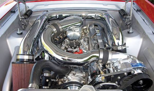 Procharger - Small block Ford Serpentine High Output Kit with P-1SC-2 (8 rib)