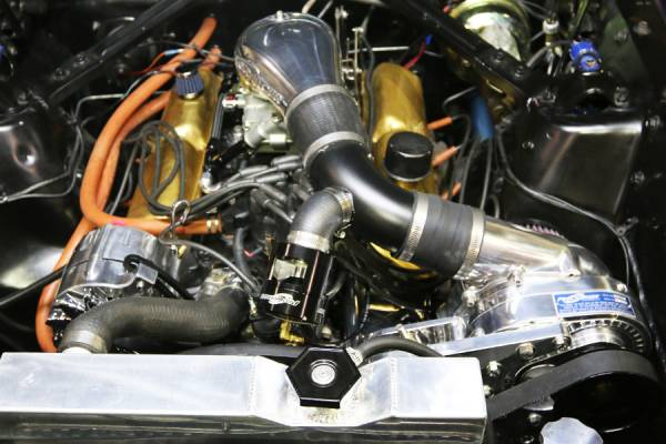 Procharger - Small Block Ford Serpentine High Output Intercooled Kit with P-1SC (8 rib)