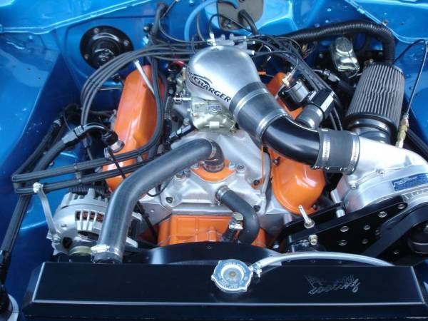 ProCharger Specialty kit by The Supercharger Store - Small Block Mopar (LA) Serpentine High Output Intercooled Kit with F-1C, F-1R (8 rib)