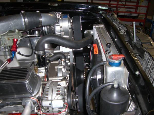 ProCharger Specialty kit by The Supercharger Store - Small Block Mopar Cog Race Kit with F-1X