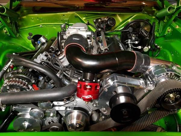 Procharger Speciality kit by The Supercharger Store - Big Block Mopar Intercooled Cog Race Kit with F-1X