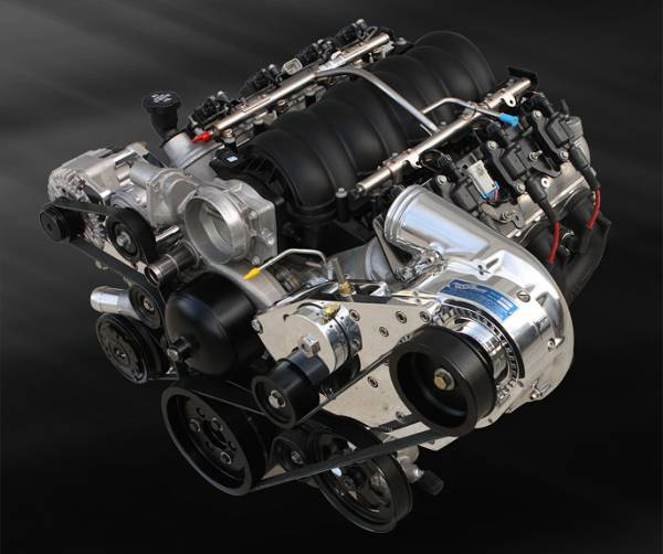 Procharger - LS Chevy Serpentine High Output Intercooled Kit with P-1SC-1
