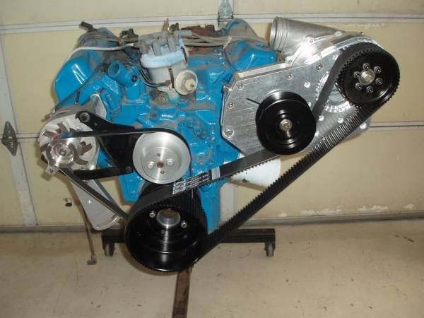 ProCharger Specialty kit by The Supercharger Store - 351 Cleveland Ford Cog Race Kit with F-1X