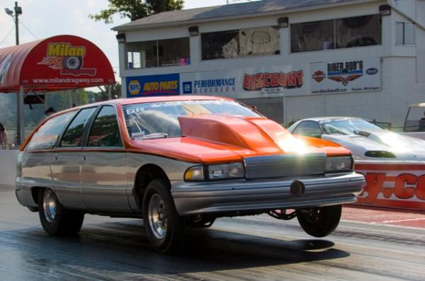 Steve Morris' Wagon One big car