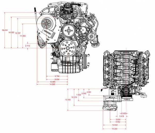 Procharger - Godzilla Engine Swap (7.3) Serpentine High Output Intercooled Tuner Kit with P-1SC-1