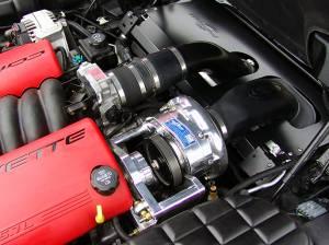 Corvette - Tuner Kit - Procharger - 2004 to 1997 CORVETTE Z06 LS1 Intercooled Serp (8 rib) Race Kit with F-1A