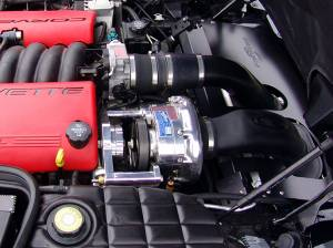 Procharger - 2004 to 2001 CORVETTE Z06 LS6 Intercooled Serp (8 rib) Race Kit with F-1A - Image 2