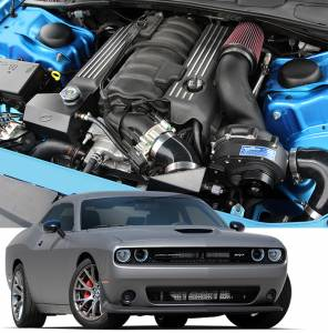 CHALLENGER - Full System - Procharger - 2018 to 2015 CHALLENGER  6.4 Stage II Intercooled System with P-1SC-1