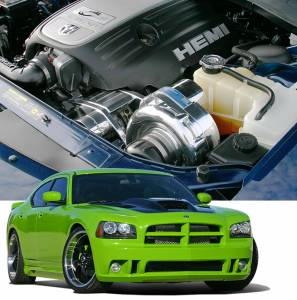 CHARGER - Full System - Procharger - 2008 to 2006 CHARGER R/T 5.7 Stage II Intercooled System with P-1SC-1