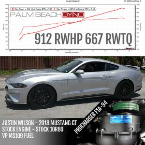 Procharger - 2018 to 2020 MUSTANG GT, BULLITT, CALIFORNA SPECIAL 5.0 4V High Output Intercooled System with Factory Airbox and P-1SC-1 - Image 7