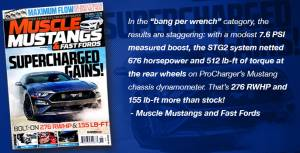 Procharger - 2018 to 2019 MUSTANG GT, BULLITT, CALIFORNA SPECIAL 5.0 4V Stage II Intercooled System with P-1SC-1 - Image 6