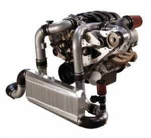 Procharger - 2005 to 2009 MUSTANG GT 4.6 3V Intercooled Serp Race Kit (12 rib) with F-1A - Image 2