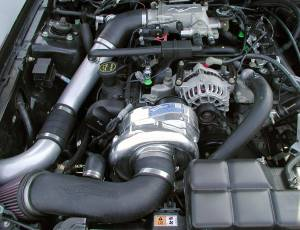 MUSTANG - Full System - Procharger - 1996 to 1998 MUSTANG GT 4.6 2V High Output Intercooled System with P-1SC
