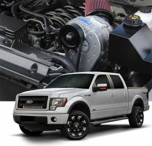 F-150 - Tuner Kit - Procharger - 2014 to 2011 FORD F-150  5.0 4V Stage II Intercooled Tuner Kit with P-1SC-1