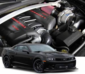 CAMARO - Tuner Kit - Procharger - 2015 to 2014 CAMARO Z/28 LS7 Stage II Intercooled Tuner Kit with P-1SC-1