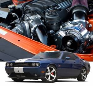 Procharger - 2014 to 2011 CHALLENGER  6.4 Stage II Intercooled System with P-1SC-1 - Image 2