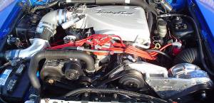 Procharger - 1986 to 1993 MUSTANG COBRA 5.0 Stage II Intercooled System with D-1SC (8 rib)