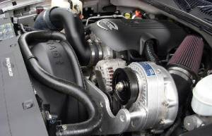 Truck/SUV - Full System - Procharger - 2007 to 2003 GM TRUCK  6 High Output Intercooled System with P-1SC (6.0)