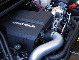 H2 - Tuner Kit - Procharger - 2009 to 2008 HUMMER H2  6.2 High Output Intercooled Tuner Kit with P-1SC-1 (6.2)
