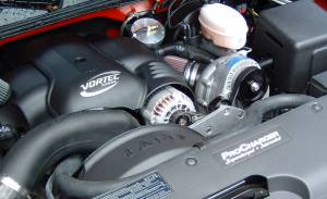 Truck/SUV - Full System - Procharger - 2003 to 1999 GM TRUCK  4.8, 5.3 High Output Intercooled System with P-1SC (4.8 / 5.3)