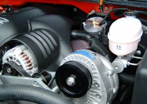 Procharger - 2003 to 1999 GM TRUCK  4.8, 5.3, 6.0 High Output Intercooled Tuner Kit with P-1SC (4.8 / 5.3 / 6.0) - Image 2