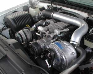 Truck/SUV - Full System - Procharger - 2000 to 1996 GM TRUCKS  5.7, 7.4 High Output Intercooled System with P-1SC (5.7)