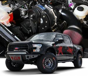 F-150 - Tuner Kit - Procharger - 2019 to 2018 FORD F-150  5.0 4V Stage II Intercooled Tuner Kit with P-1SC-1