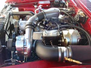 ProCharger Specialty kit by The Supercharger Store - Small Block Mopar (LA) Serpentine High Output Intercooled Kit with F-1C, F-1R (8 rib) - Image 3