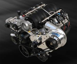 LS - Serpentine - Procharger - LS Chevy Serpentine High Output Intercooled Kit with P-1SC-1